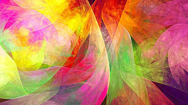 soñar con colores fuertes