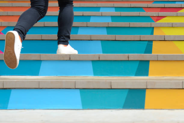 soñar con escaleras blancas