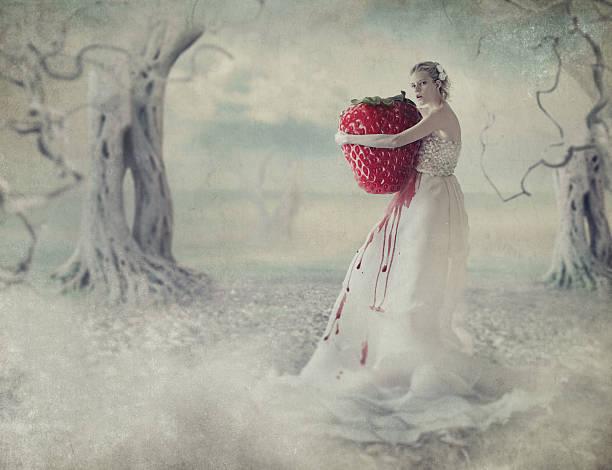 soñar con fresas grandes