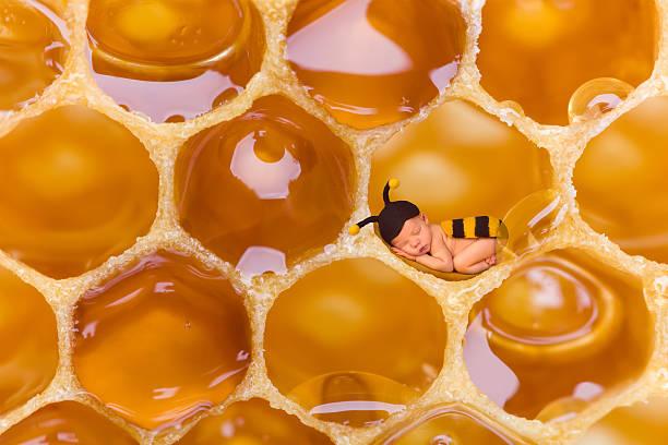 soñar con miel derramada