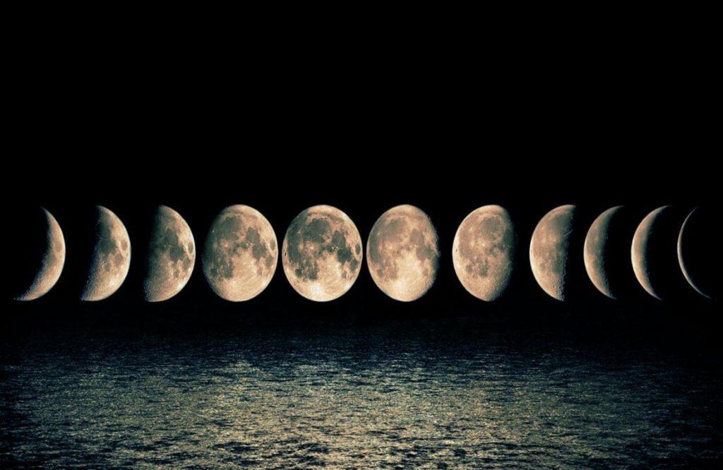 soñar con la luna y el sol