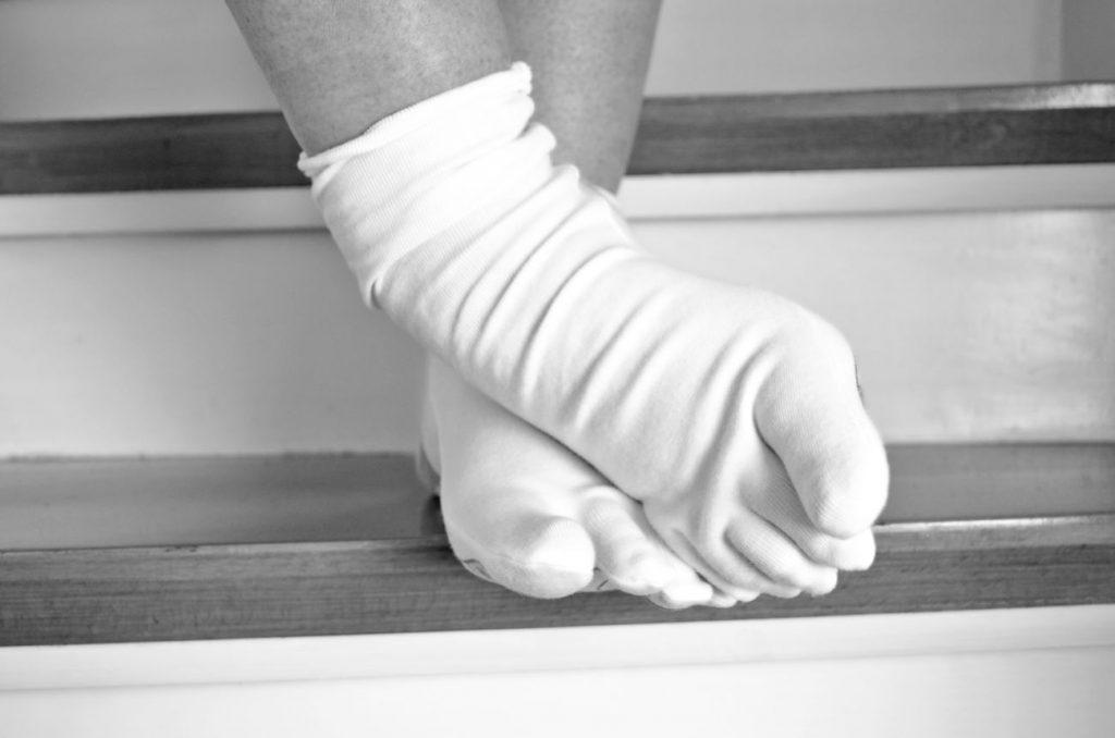 soñar con calcetines blancos