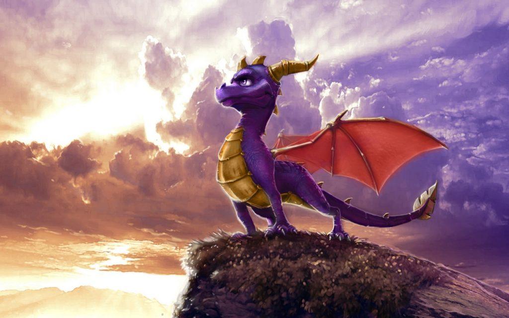 soñar con dragones azules