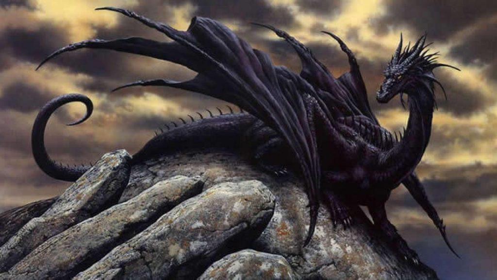 soñar con dragones volando