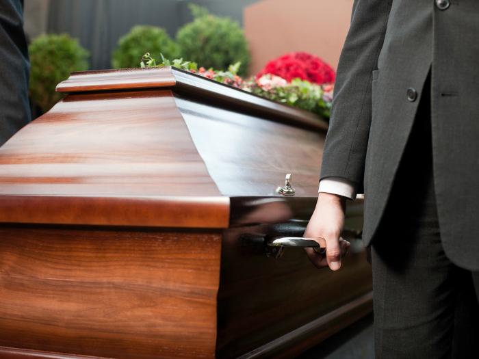 soñar con entierro de alguien