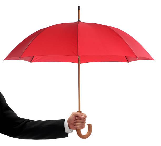soñar con paraguas rojo
