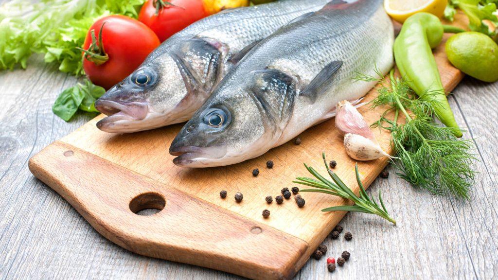 soñar con pescados frescos