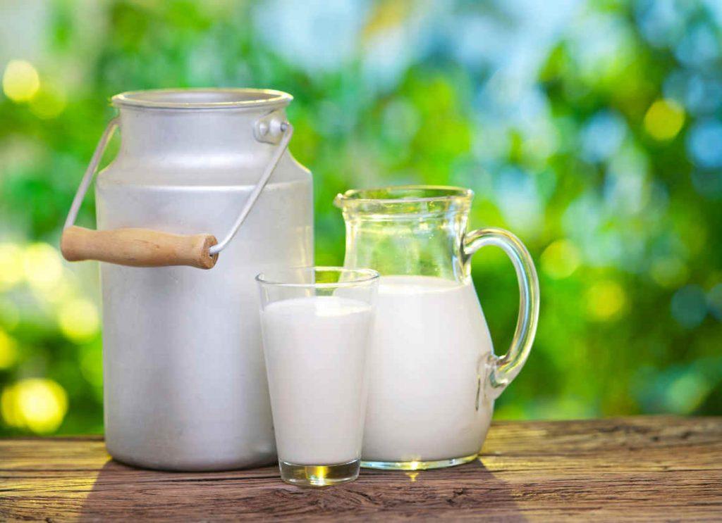soñar con leche cuajada