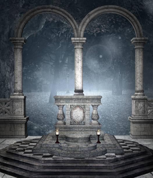 soñar con cementerio de noche