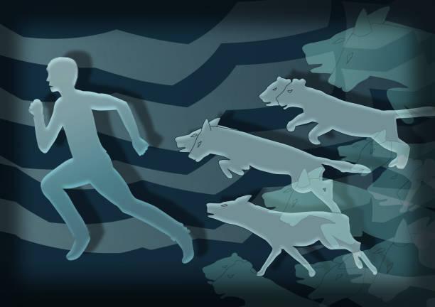 soñar con lobos blancos