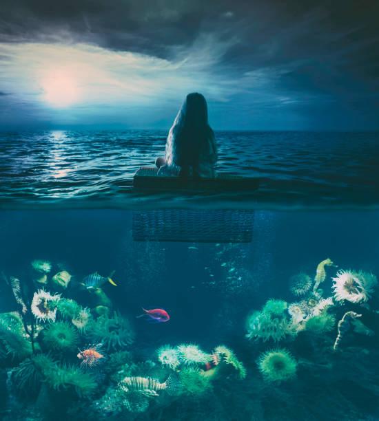 soñar con peces en el agua