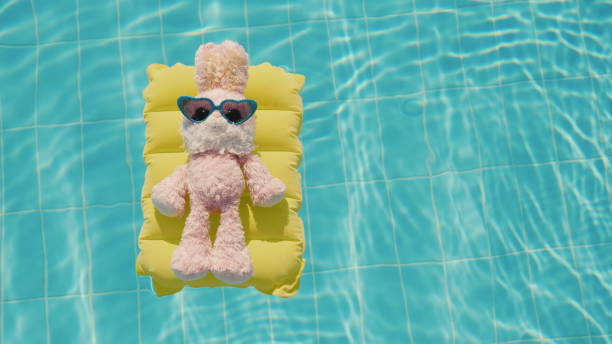 soñar con piscina de agua limpia