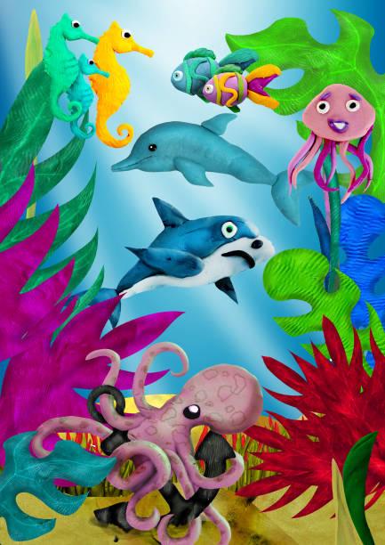 soñar con tiburones nadando