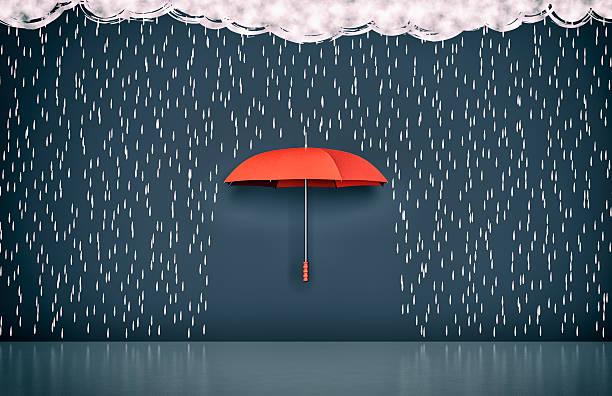 soñar con lluvia y agua sucia
