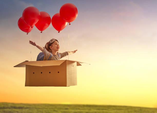 soñar con volar en globo